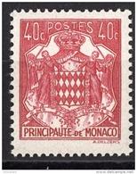 MONACO 1943 -   Y.T. N° 251 - NEUF** - Nuovi