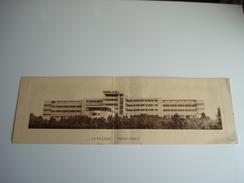 Carte Publicitaire Double 1939 , Sanatorium Joseph Lemaire à Tombeek Overyssche Overijse - Overijse