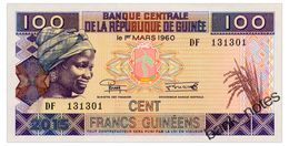 GUINEA 100 FRANCS 2015 Pick A47 Unc - Guinee