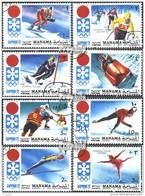 Manama 562A-569A (kompl.Ausg.) Gestempelt 1971 Olymp. Winterspiele '72, Sapporo - Manama