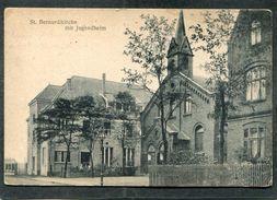 CPA - GRUSS Aus OBER MEIDERICH - St Bernardikirche Mit Jugendheim - Duisburg