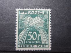 VEND BEAU TIMBRE TAXE DE FRANCE N° 88 , XX !!! - Segnatasse