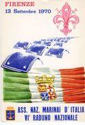 Firenze - 1970 VI° Raduno Nazionale Marinai D' Italia - - Autres