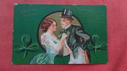 Saint-Patrick's Day Erin Go Bragh Embossed  Ref 2699 - Saint-Patrick's Day