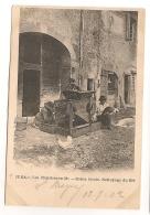LES PLANCHES EN MONTAGNE / SCENE LOCALE NETTOYAGE DU BLE / AGRICULTURE METIER CPA991 - France