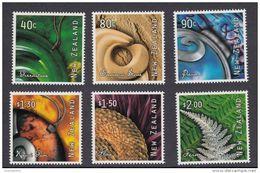 New Zealand - Art From Nature 2001 - Michel: 1902-1907 - ** MNH - Nuova Zelanda