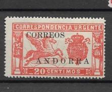 1928 MH Andorra - Nuevos