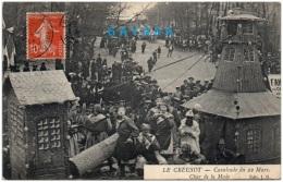 71 LE CREUSOT - Cavalcade Du 22 Mars - Char De La Mode   (Recto/Verso) - Le Creusot