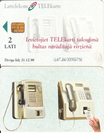 LATVIA(chip) - Lattelecom Cardphones, First Chip Issue, Chip Siemens 37, Used - Latvia