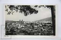 Old Real Photo Postcard Venezuela - Caracas, Panorama - Posted 1956 - Venezuela