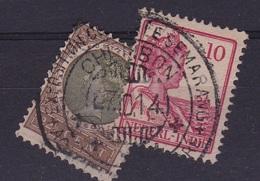 Ned. Indië: EXPOSITION CHERIBON 2 X Op Koningin Wilhelmina NVPH 54- 115 - Indes Néerlandaises
