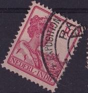 Ned. Indië: 1913 EXPOSITION  Op Koningin Wilhelmina 10 Ct Rood NVPH 115 - Nederlands-Indië