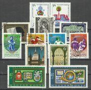 """Ungarn 3303-04,1793-95,3959-62,2790-91,2813-14 """"Kl. Lot Mit 5 Briefmarkensätzen Kpl.1961-1988"""" Gestempelt Mi.:6,90 - Oblitérés"""