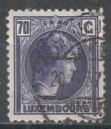 Luxembourg 1935. Scott #173 (U) Grand Duchess Charlotte - 1926-39 Charlotte De Profil à Droite