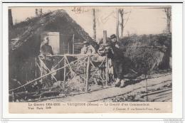 55 - Vauquois - Le Gourbi D´un Commandant - Sonstige Gemeinden