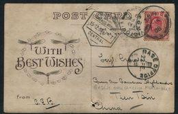 SOUTH AFRICA TIEN TSIN CHINA BKSE OFFICE 1908 CAMERON HIGHLANDERS KILT TRANSVAAL - South Africa (...-1961)