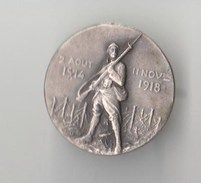 Broche GUERRE 1914-1918 , Souvenons-nous De Nos Morts D' EPERNAY - Militaria