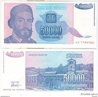 Yugoslavia - 50000 Dinar 1993 UNC - Joegoslavië
