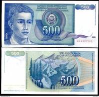 Yugoslavia - 500 Dinar 1990 UNC - Joegoslavië