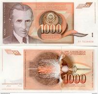 Yugoslavia - 1000 Dinar 1990 UNC - Jugoslawien
