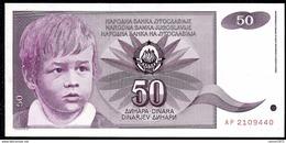 Yugoslavia - 50 Dinar 1990 UNC - Joegoslavië
