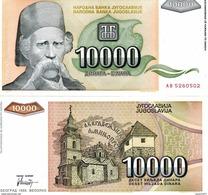 Yugoslavia - 10000 Dinar 1993 UNC - Joegoslavië
