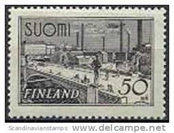 Finland 1942 50mk Tawastbrug Lilagrijs PF-MNH-NEUF - Finland
