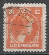 Luxembourg 1946. Scott #219A (U) Grand Duchess Charlotte - 1944 Charlotte De Profil à Droite