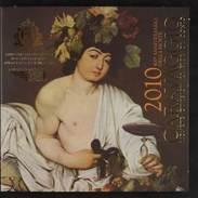 45138) San Marino - Euro KMS 2010, Von 1 Cent Bis 5 Euro, Im Folder, St - San Marino