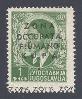 ITALY FIUMANO KUPA 1941 Nº 3 - Egeo (Lipso)