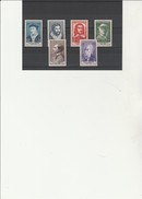 TIMBRES  CELEBRITES N° 1066 A 1071 NEUF SANS CHARNIERE -ANNEE 1956 -  COTE : 51 € - France
