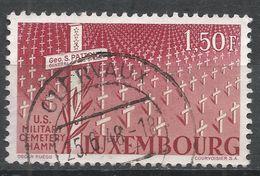 Luxembourg 1947. Scott #242 (U) US Military Cemetery, Hamm - Luxembourg