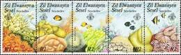 SEYCHELLES 1986 Zil Elwannyen Sesel, Corals, Marine Life, Fish, Fauna MNH - Seychelles (1976-...)