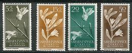 Sahara Espagnol ** N° 113 à 116 - Fleurs - - Végétaux