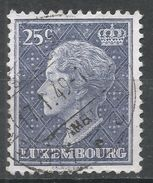 Luxembourg 1948. Scott #251 (U) Grand Duchess Charlotte - 1948-58 Charlotte De Profil à Gauche