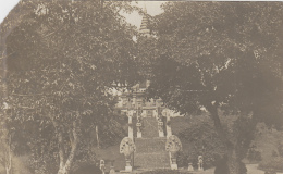 Cambodge - Siam - Phnom Penh - Protectorat Français - Colonial - Photographie Fin XIXème - Escalier Palais Royal - Cambodge