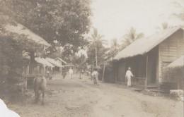 Cambodge - Pailin - Protectorat Français - Colonial - Photographie Fin XIXème - Rue Du Village De Palin - Cambodge