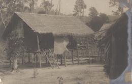 Cambodge - Protectorat Français - Colonial - Photographie Fin XIXème - Village De Lapanjin - Cambodge