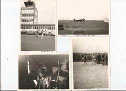 AEROPORT DE LILLE LESQUIN  4 PHOTOS TIREES D'UN ALBUM  1964 - Aviation