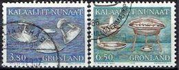 GREENLAND  # FROM 1986  STAMPWORLD 165-66 - Groenlandia