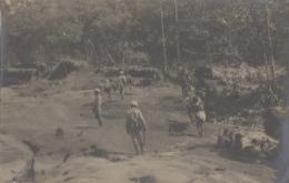 Cambodge - Siam Thailand - Protectorat Français - Colonial - Photographie Fin XIXème - Campement Klong Jin Fnam - Cambodge