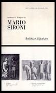 Catalogo Mostra Inchiostri E Tempere Di MARIO SIRONI. Galleria Ciranna - Milano Dal 4 Aprile 1964. - Arte, Architettura