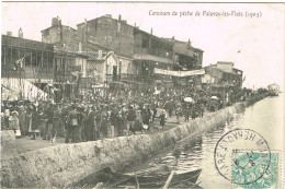 HERAULT 34.PALAVAS LES FLOTS CONCOURS DE PECHE DE PALAVAS LES FLOTS 1905 - Palavas Les Flots