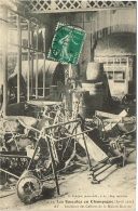 MARNE 51.LES EMEUTES EN CHAMPAGNE AVRIL 1911 AY INTERIEUR DES CELLIERS DE LA MAISON GALLOIS - Ay En Champagne
