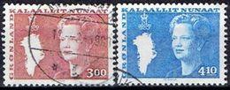 GREENLAND  # FROM 1988  STAMPWORLD 179-80 - Groenlandia