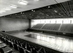 PHOTO - Photo De Presse - PYONGYANG - Corée Du Nord - Gymnase - Volley - 1988 - Lieux