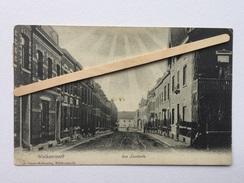 "WELKENRAEDT "" Rue LAMBERTS ""animée , Commerces ( 1907)J. Obers-Malherbe, Welkenraedt. - Welkenraedt"