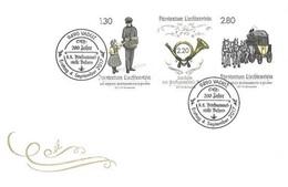 Liechtenstein 2017: 200 Jahre Post Balzers Michel Block 30 Auf FDC Unter Postpreis (CHF 7.30) - Poste