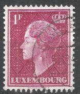 Luxembourg 1948. Scott #254 (U) Grand Duchess Charlotte - 1948-58 Charlotte De Profil à Gauche