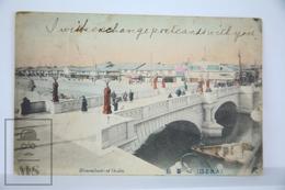 Old Postcard Japan - Shinsaibashi At Osaka  - Posted 1915 - Osaka